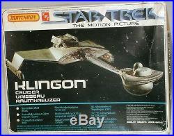 Star Trek The Motion Picture Klingon Cruiser Boxed Plastic Model Kit (xxx)