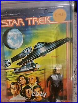 Star Trek The Motion Picture Mego, 3 RARE ALIENS on ITALIAN CARDS & 3 Crew