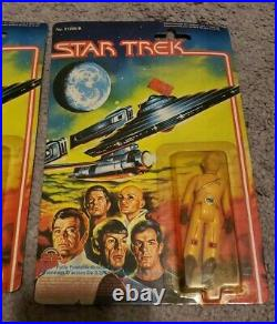 Star Trek The Motion Picture Mego, 4 VERY RARE ALIENS and Decker, McCoy