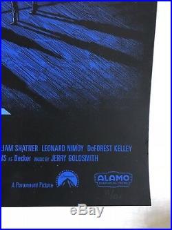 Star Trek The Motion Picture Mondo poster by Daniel Danger