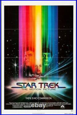Star Trek The Motion Picture Movie Poster Nimoy Shatner Hollywood Posters