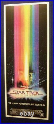 Star Trek The Motion Picture Original Rolled 14x36 Movie Poster 1978 Insert