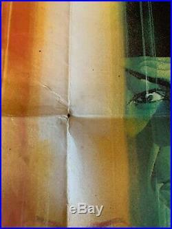 Star Trek The Motion Picture UK QUAD POSTER 1979 Original good condition