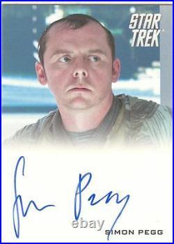 Star Trek The Movie 2009 Autograph Card Simon Pegg