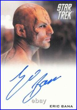 Star Trek The Movie 2009 Eric Bana as Nero Auto Autograph Card