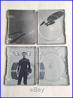 Star Trek Three Movie Collection Blu-ray Steelbook UK Zavvi Exclusive! MINT