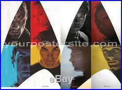 Star Trek XI 8 Pcs/Set Orig Movie Poster Single Sided