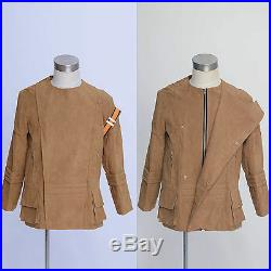 Star Trek costume Adult Motion Picture Spock Kirk Jacket Suede Coat Uniform