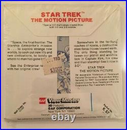 Star Trek the Motion Picture GAF 3D Original Factory Sealed 1979 ViewMaster Reel