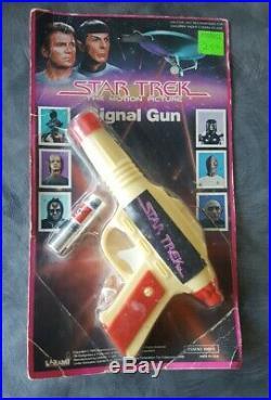 Ultra rare 1979 Larami STAR TREK Motion Picture Signal Gun MOC
