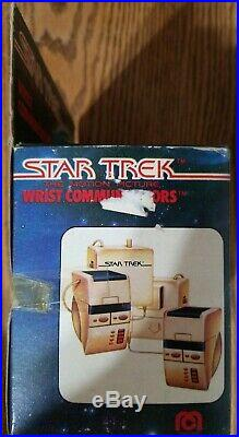 Ultra rare 1979 Mego STAR TREK Motion Picture WRIST COMMUNICATORS