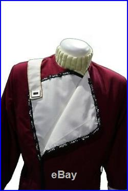 Uniform L Movie Monster Maroon Star Trek II VI Replica neu ungetragen