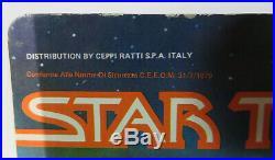 VINTAGE 1979 Mego STAR TREK Motion Picture MEGARITE Alien Italy Release MOC C8.5