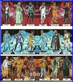 Very Very Rare 1979 UK England Star Trek Motion Picture Wheetabix Card Set TMP
