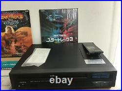 Victor HD-7900 VHD Video Disc Player STAR TREK MOVIE WRATH OF KAHN f/s