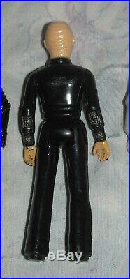 Vintage 1979 Mego 3 3/4 Star Trek Motion Picture Aliens Figure lot of 5
