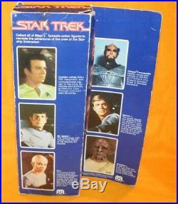 Vintage 1979 Mego Star Trek Capt. Kirk 12.5 Fully Poseable Movie Figure Boxed
