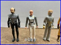 Vintage 1979 Mego Star Trek The Motion Picture figure lot 4 RARE ALIENS! Look