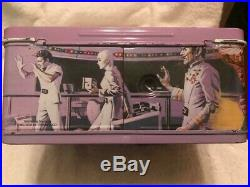 Vintage 1979 Star Trek Motion Picture Metal Lunch Box Flip N Sip Thermos