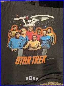 Vintage 1991 LOT Star Trek T-Shirts Size XL Vintage 90s VTG