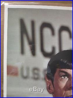 Vintage Poster Star trek Spock Movie TV 1976 Inv#G1979