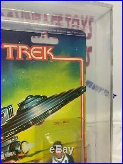 Vintage Star Trek The Motion Picture Action Figure Captain Kirk 1980 Mego Afa 85