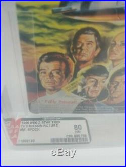Vintage Star Trek The Motion Picture Action Figure Mr. Spock 1980 Mego Afa 80 Nm