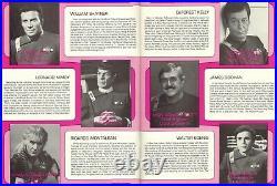 WILLIAM SHATNER SIGNED STAR TREK II WRATH OF KHAN MOVIE PROGRAM (1982), With COA