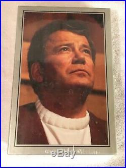 William Shatner SIGNED SLIPCASE LIMITED EDITION STAR TREK MOVIE Memories SEALED