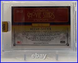 William Shatner Star Trek Donruss Celebrity Cuts Movie Stars Autograph Card 9/10