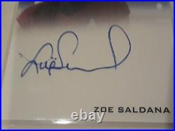 Zoe Saldana as Uhura 2009 Star Trek XI Movie Autograph Card Auto
